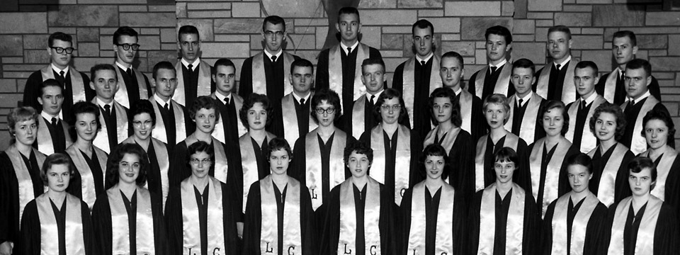 1960 professional choir photo
