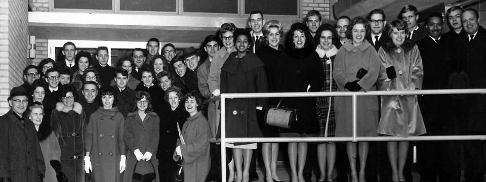 1964 choir at Wilkes University