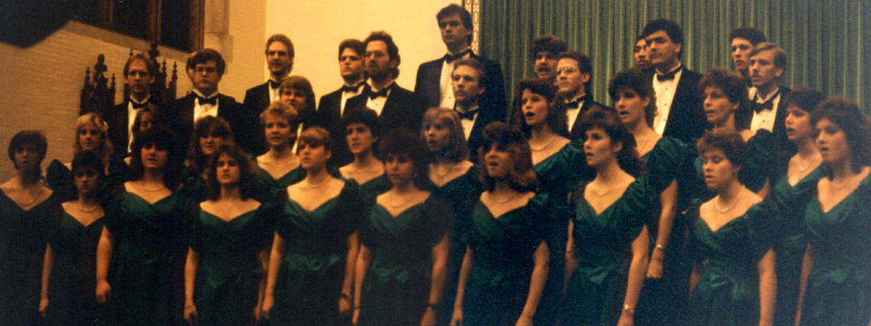 1988 choir performing