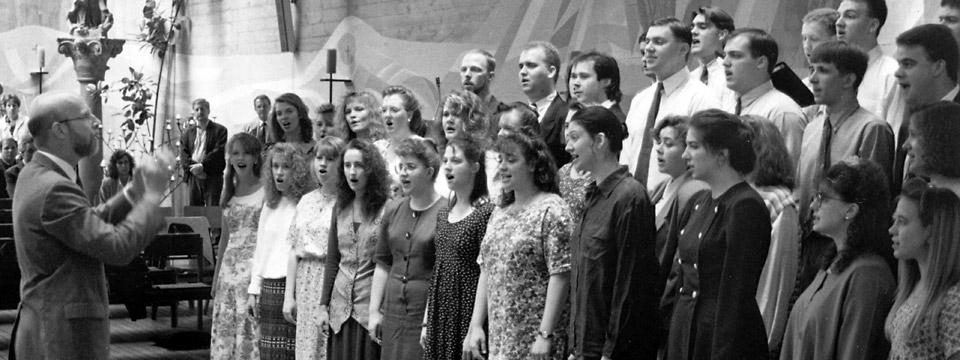 1994 choir in Europe