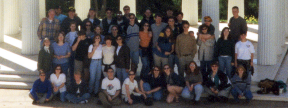 1998 tour choir in CA