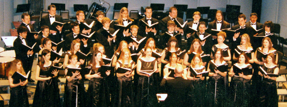 2005 choir at Whitaker Center