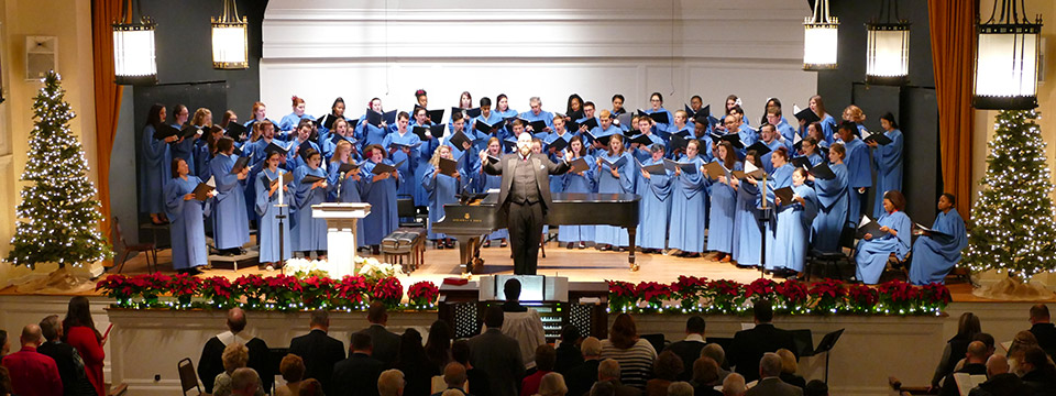 Lycoming College Choir - Videos: 2017 and 2018 Christmas Candlelight