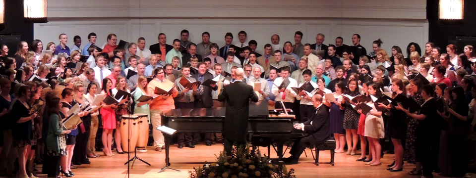 Graduation concert 2013 with alumni