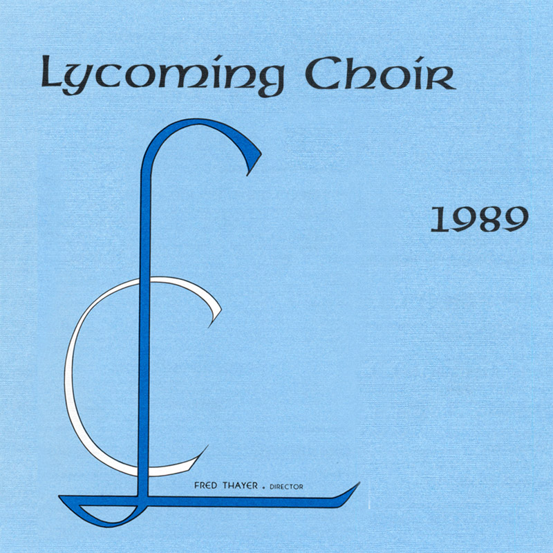 1989 Lycoming College Choir